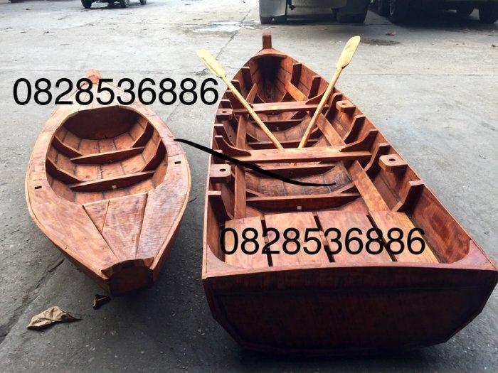 Xuồng gỗ 3 lá, Xuồng gỗ chèo tay(liên hệ báo giá)3