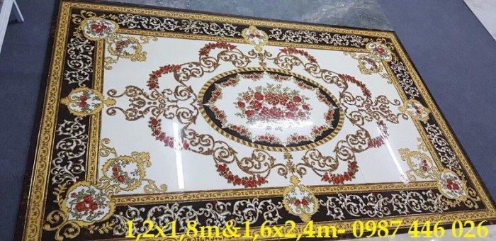 Gạch thảm sàn lát nền nhà hoa văn Hp509397