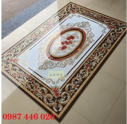 Gạch thảm sàn lát nền nhà hoa văn Hp509396