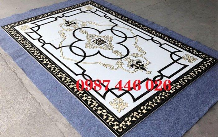 Gạch thảm sàn lát nền nhà hoa văn Hp509395