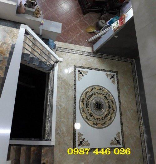 Gạch thảm sàn lát nền nhà hoa văn Hp509390