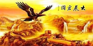 Tranh gạch 3d chim đại bàng - VC26