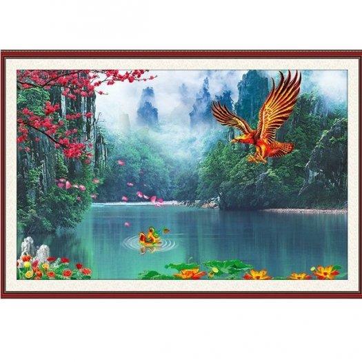 Tranh gạch 3d chim đại bàng - VC22
