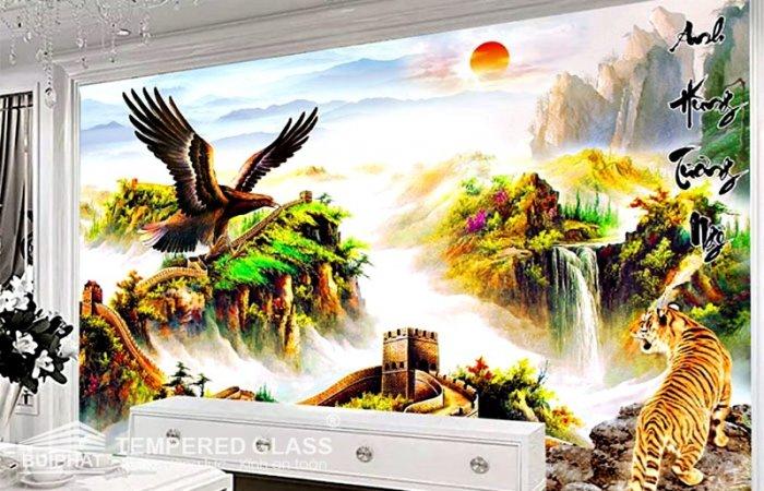 Tranh gạch 3d chim đại bàng - VC20