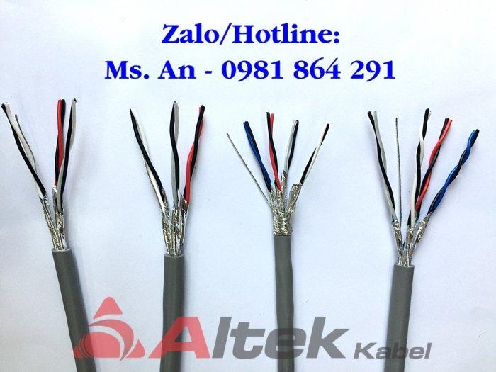 Cáp tín hiệu vặn xoắn chống nhiễu 1, 2, 3, 4 Pair Altek Kabel2