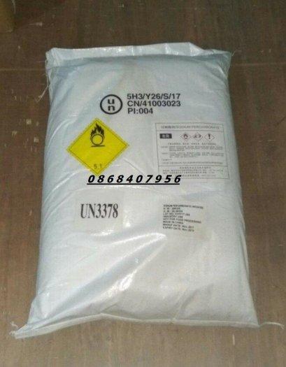 Oxy bột – Sodium Percarbonate dùng trong nuôi trồng thủy sản0