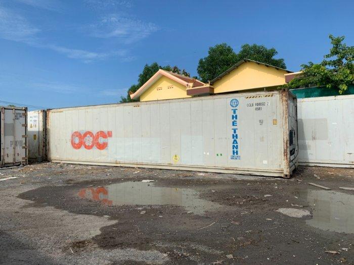 Container lạnh 40feet làm kho lạnh trữ đông1