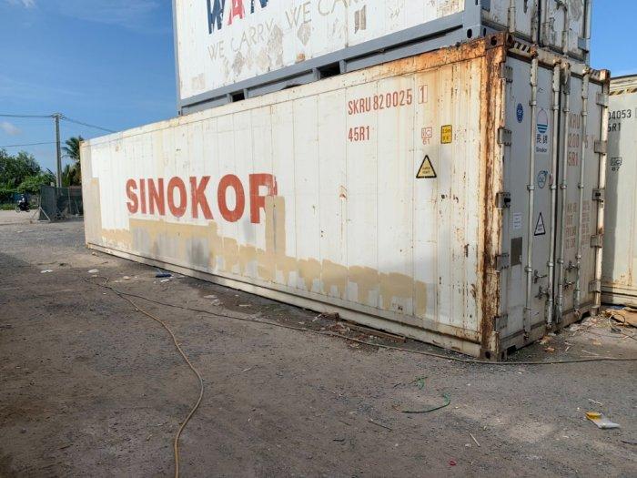 Container lạnh 40feet làm kho lạnh trữ đông0