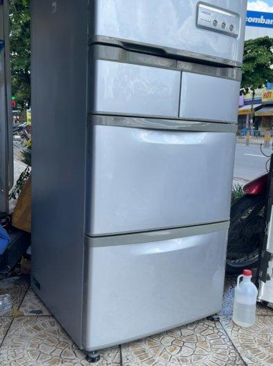 Tủ lạnh nội địa Nhật HITACHI R-S42ZM --415LIT--date 20107