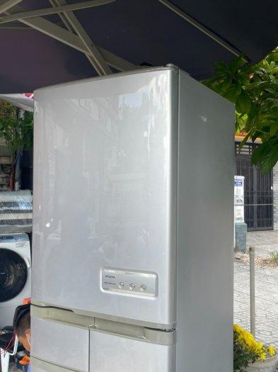 Tủ lạnh nội địa Nhật HITACHI R-S42ZM --415LIT--date 20106