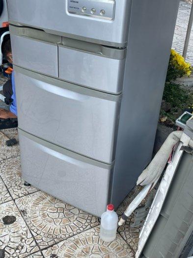 Tủ lạnh nội địa Nhật HITACHI R-S42ZM --415LIT--date 20105