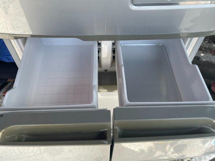 Tủ lạnh nội địa Nhật HITACHI R-S42ZM --415LIT--date 20103