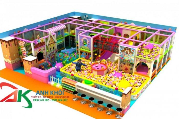 Chuyên thi công lắp đặt khu vui chơi trẻ em trong nhà mới nhất0