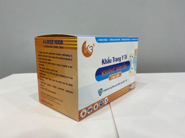 Khẩu trang kháng khuẩn K34