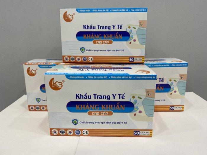 Khẩu trang kháng khuẩn K33