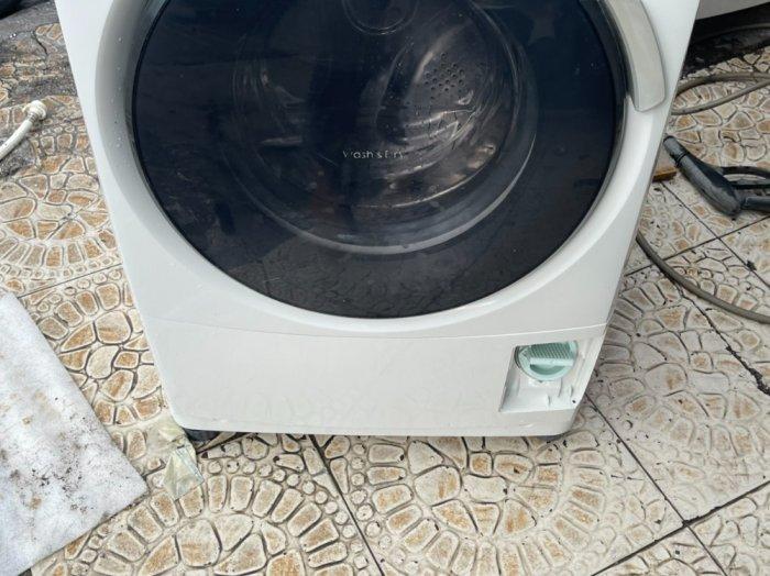Máy giặt nội địa PANASONIC NA-VD100 giặt 6kg Sấy khô 3kg Date 20116