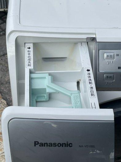 Máy giặt nội địa PANASONIC NA-VD100 giặt 6kg Sấy khô 3kg Date 20111