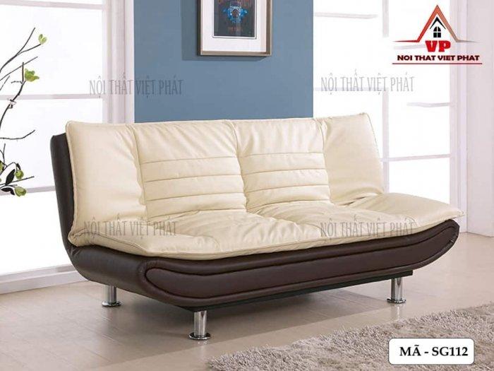 Ghế Sofa Bed Cao Cấp Bọc Da1