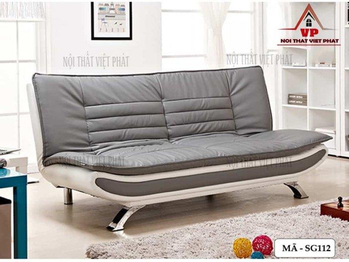 Ghế Sofa Bed Cao Cấp Bọc Da0