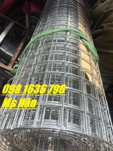 Lưới thép hàn D2 a25*25 , D2 a30*30mm mạ kẽm.9