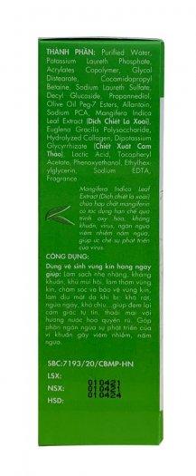 Vệ sinh phụ nữ ngăn ngừa viêm nhiễm, nấm ngứa- hương nước hoa- SANTAFA -Chai 110ml ( dạng xịt )4
