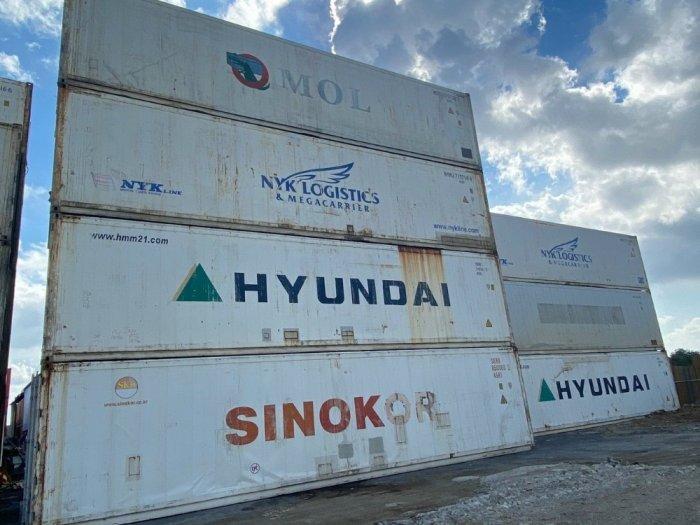 Container làm kho lạnh 64m32