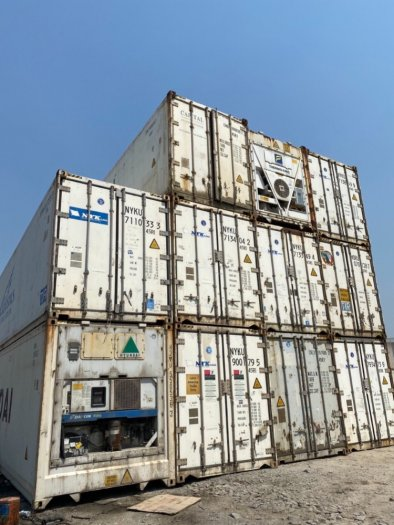 Container làm kho lạnh 64m30