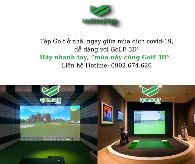 Gói phòng tập Golf0