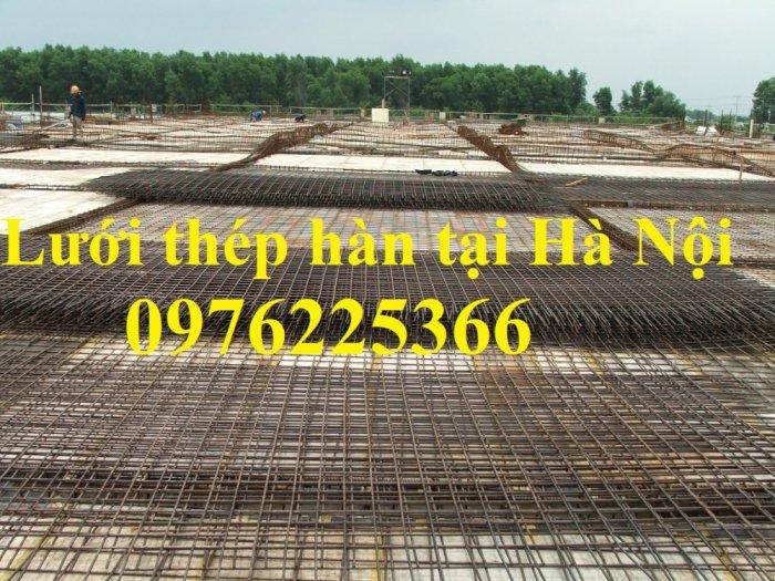 Lưới thép hàn D6 A200x200, D6 A150x150, D6 a100x1000