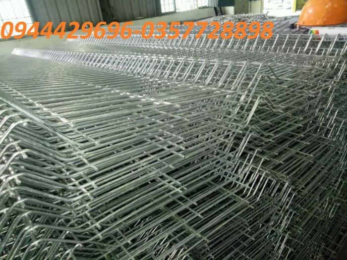 Hàng Rào Lưới Thép Hàn Mạ Kẽm Sơn Tĩnh Điện D5 A 50X150, 50X2002