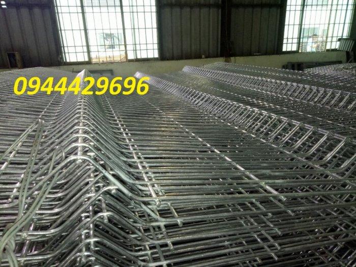 Hàng Rào Lưới Thép Hàn Mạ Kẽm Sơn Tĩnh Điện D5 A 50X150, 50X2001