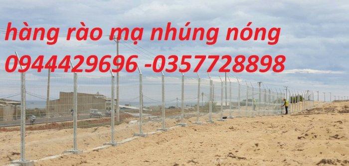 Hàng Rào Lưới Thép Hàn Mạ Kẽm Sơn Tĩnh Điện D5 A 50X150, 50X2000