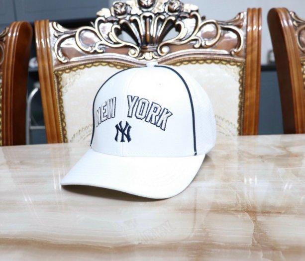 Nón kết nam nữ thời trang cao cấp New York trắng đen4