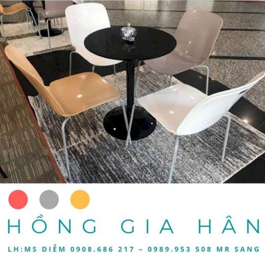 Bàn ghế văn phòng Hồng Gia Hân BGN050