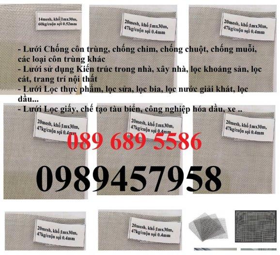 Nơi bán Lưới inox chống muỗi, Lưới inox 304, Lưới inox 316, Lưới đan inox, Lưới dệt inox3047