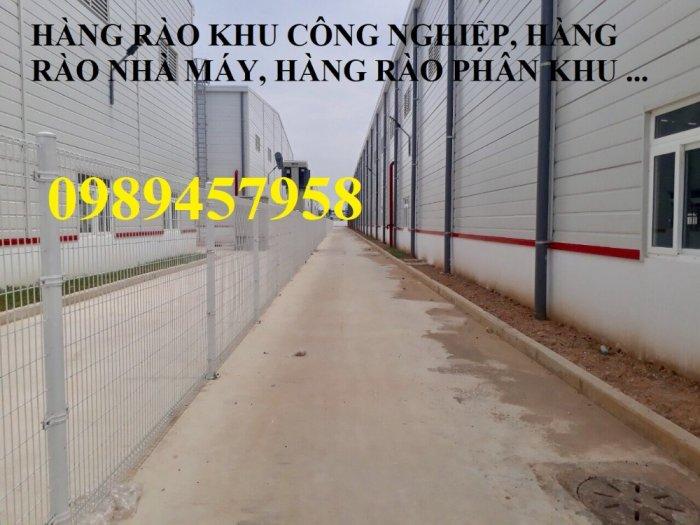 Lưới thép hàng rào có sẵn D5 50x150, D5 50x200 mạ kẽm, Lưới hàng rào mạ kẽm nhúng nóng12