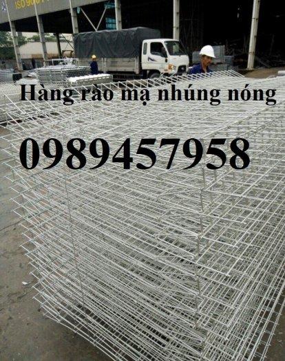 Lưới thép hàng rào có sẵn D5 50x150, D5 50x200 mạ kẽm, Lưới hàng rào mạ kẽm nhúng nóng11