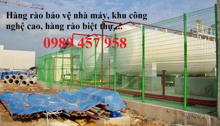 Lưới thép hàng rào có sẵn D5 50x150, D5 50x200 mạ kẽm, Lưới hàng rào mạ kẽm nhúng nóng10