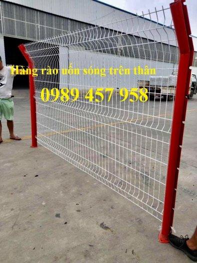 Lưới thép hàng rào có sẵn D5 50x150, D5 50x200 mạ kẽm, Lưới hàng rào mạ kẽm nhúng nóng9