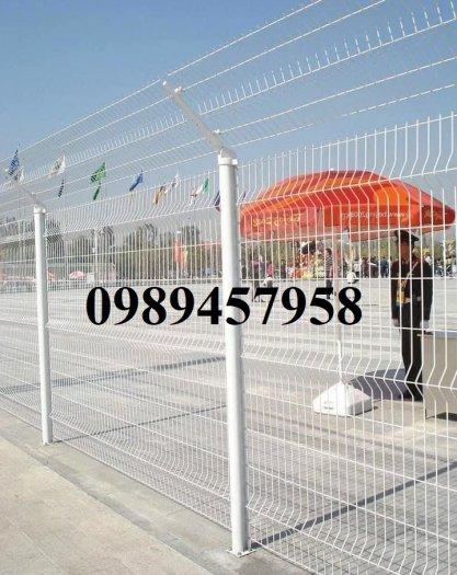 Lưới thép hàng rào có sẵn D5 50x150, D5 50x200 mạ kẽm, Lưới hàng rào mạ kẽm nhúng nóng8