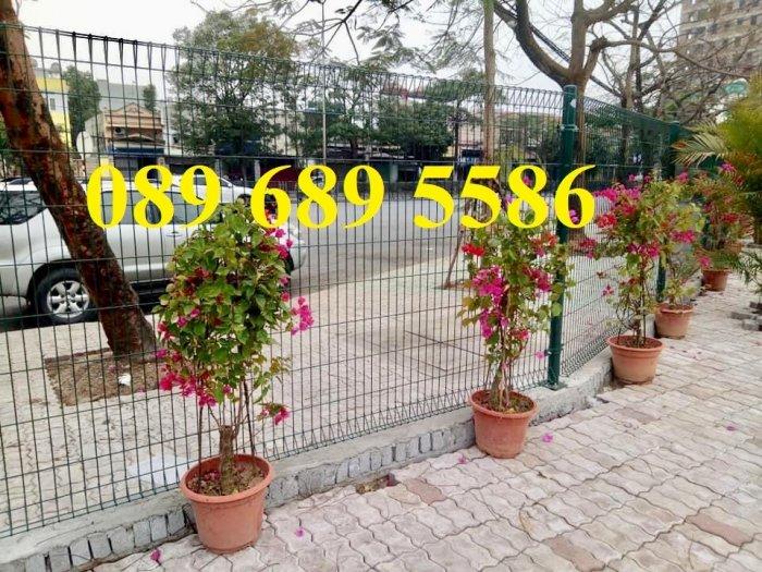 Lưới thép hàng rào có sẵn D5 50x150, D5 50x200 mạ kẽm, Lưới hàng rào mạ kẽm nhúng nóng7