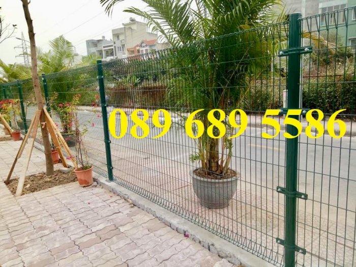 Lưới thép hàng rào có sẵn D5 50x150, D5 50x200 mạ kẽm, Lưới hàng rào mạ kẽm nhúng nóng6