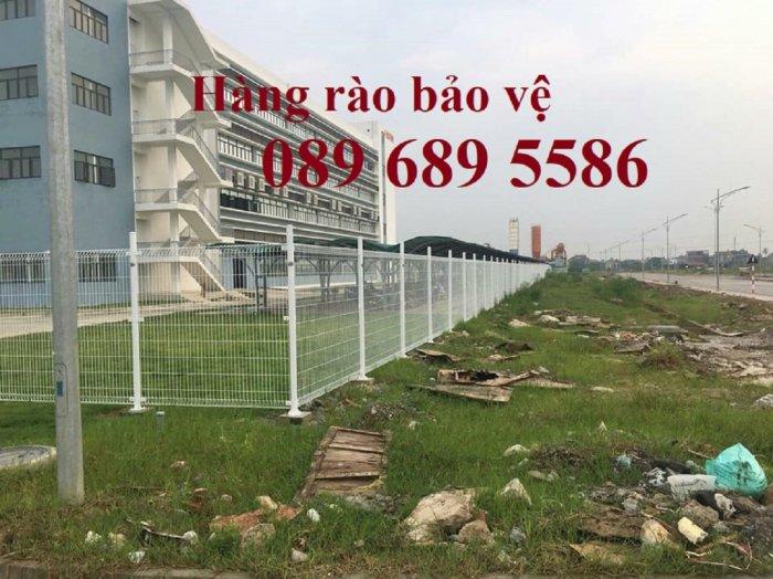 Lưới thép hàng rào có sẵn D5 50x150, D5 50x200 mạ kẽm, Lưới hàng rào mạ kẽm nhúng nóng5