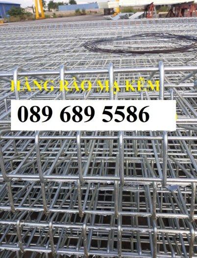 Lưới thép hàng rào có sẵn D5 50x150, D5 50x200 mạ kẽm, Lưới hàng rào mạ kẽm nhúng nóng4