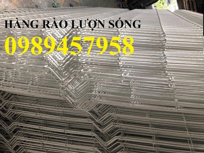 Lưới thép hàng rào có sẵn D5 50x150, D5 50x200 mạ kẽm, Lưới hàng rào mạ kẽm nhúng nóng3