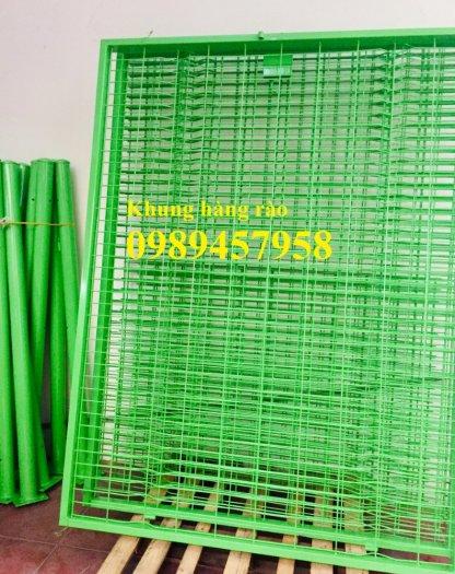 Lưới thép hàng rào có sẵn D5 50x150, D5 50x200 mạ kẽm, Lưới hàng rào mạ kẽm nhúng nóng0
