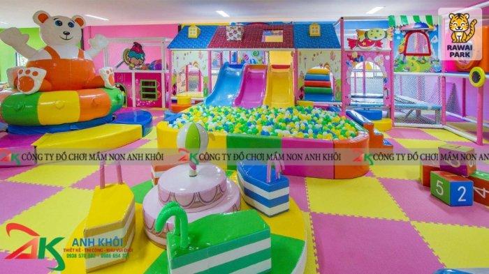 Công ty chuyên thi công lắp đặt khu vui chơi trẻ em trong nhà0