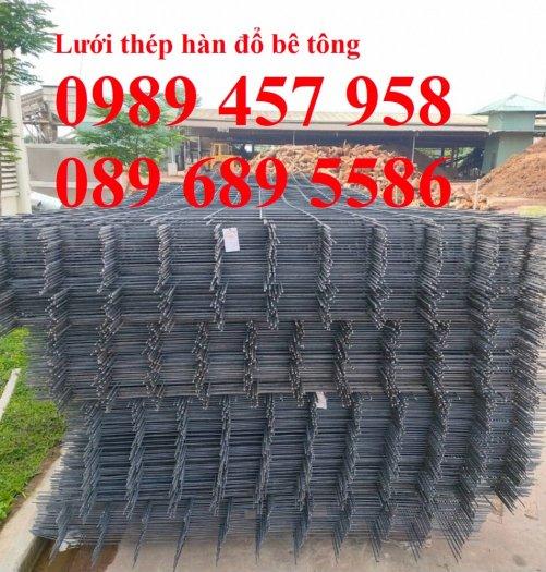 Lưới thép đổ bê tông phi 4 150x150, Thép đổ sàn phi 4 a 200x200, Lưới chống nóng D4 200x20011