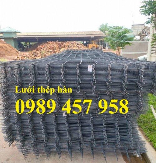 Lưới thép đổ bê tông phi 4 150x150, Thép đổ sàn phi 4 a 200x200, Lưới chống nóng D4 200x20010