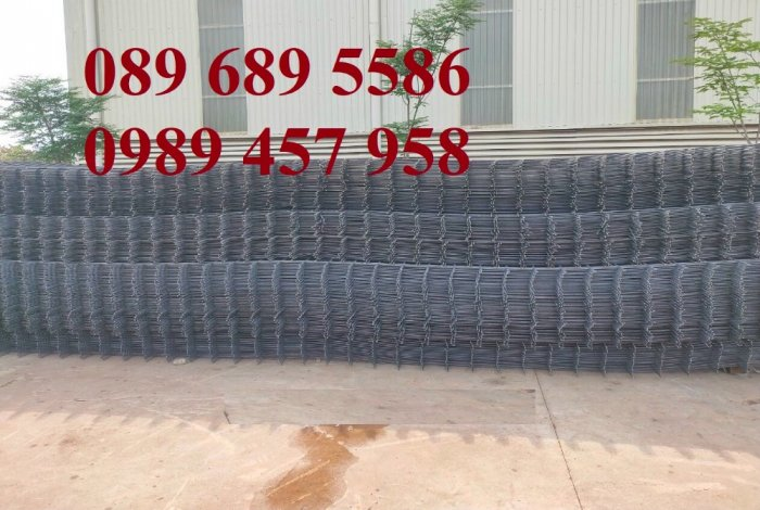 Lưới thép đổ bê tông phi 4 150x150, Thép đổ sàn phi 4 a 200x200, Lưới chống nóng D4 200x2008